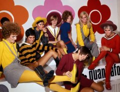 Mary Quant and models at the Quant Afoot footwear collection launch, 1967 © PA Prints 2008 #wewantquant